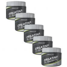 Kit 5 Predator Creatina 100% Monohidratada - 150g - Nutrata