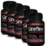 Kit 5 - Sineflex Hardcore 150 Cápsulas - Power Supplements