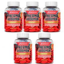 Kit 5 Thermo Abdomen - 60 Tabletes - BodyAction