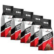 Kit 5 Whey Isolate Definition - 1800g Refil Chocolate - BodyAction