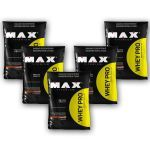 Kit 5 Whey Pro - 1500g Refil Chocolate - Max Titanium no Atacado