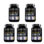 Kit 5X 100% Pure Whey - 900g Baunilha - Probiótica no Atacado