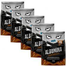 Kit 5X Albumina - 500g Chocolate - Proteína Pura