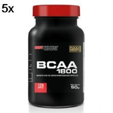 Kit 5X BCAA 1800 - 120 Cápsulas - BodyBuilders