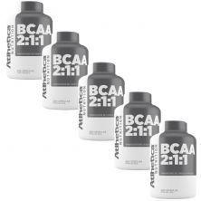 Kit 5X Bcaa 2:1:1 - 200 Cápsulas - Atlhetica Nutrition
