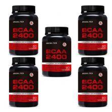 Kit 5X BCAA 2400 - 60 Tabletes - Probiótica