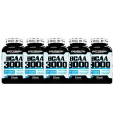 Kit 5X BCAA 3000 - 50 Cápsulas - Body Nutry