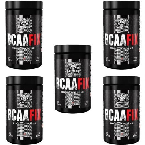 Kit 5X BCAA Fix Darkness - 120 Tabletes - IntegralMédica no Atacado