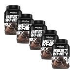 Kit 5X Best Whey - 900g Brownie Chocolate - Atlhetica Nutrition no Atacado