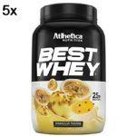 Kit 5X Best Whey - 900g Mousse de Maracujá - Atlhetica Nutrition no Atacado
