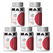 Kit 5X Chromium Picolinate - 60 Cápsulas - Max Titanium