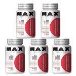 Kit 5X Chromium Picolinate - 60 Cápsulas - Max Titanium no Atacado