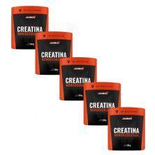 Kit 5X Creatina Monohidratada - 300g - New Millen