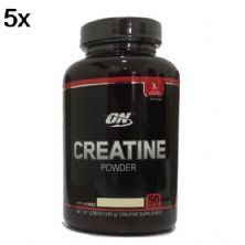 Kit 5X Creatine Powder - 150g Sem Sabor - Optimum Nutrition