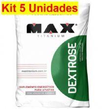 Kit 5X Dextrose - 1000g Natural - Max Titanium