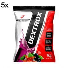 Kit 5X Dextrox (Dextrose) - 1 Kg Guaraná com Acaí - BodyAction