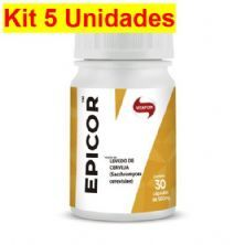 Kit 5X Epicor - 30 Cápsulas - Vitafor