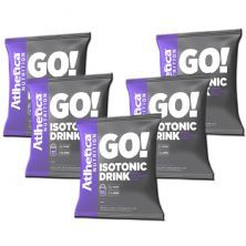 Kit 5 Go Isotonic Drink - 900g Refil Guaraná com Açaí - Atlhetica Nutrition