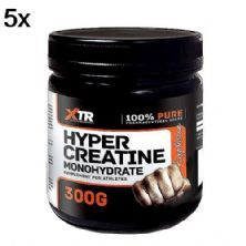 Kit 5X Hyper Creatine Monohydrate - 300g - XTR