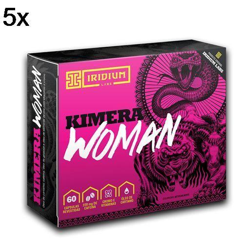 Kit 5X Kimera Woman Thermo - 60 Comprimidos - Iridium no Atacado
