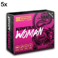 Kit 5X Kimera Woman Thermo - 60 Comprimidos - Iridium
