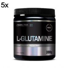 Kit 5X L-Glutamine - 300g - Probiótica
