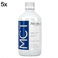 Kit 5X MCT 3 Glicerilm - 500ml - Atlhetica Nutrition