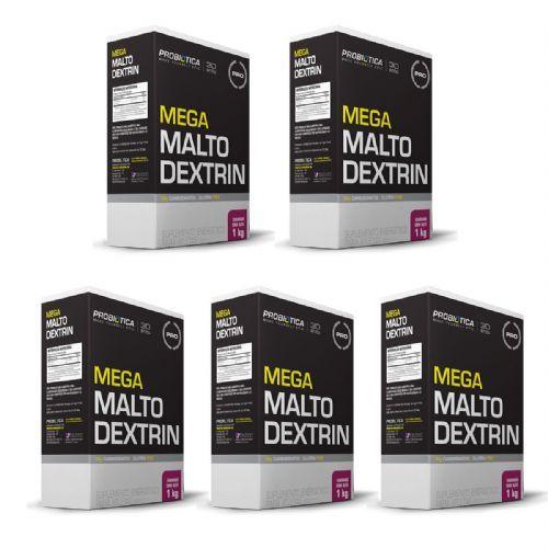 Kit 5X Mega Maltodextrin - 1 Kg Guaraná com Açaí - Probiótica no Atacado