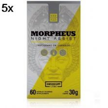 Kit 5X Morpheus Night Assist - 60 Cápsulas - Iridium