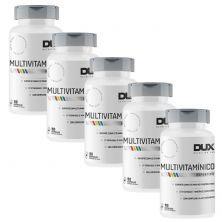 Kit 5X Multivitamínico Esportivo - 90 Cápsulas Softgel - Dux Nutrition