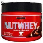 Kit 5X Nutwhey Creme de Avelã Proteico - 200g - IntegralMédica no Atacado