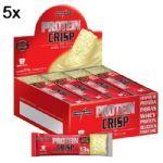 Kit 5X Protein Crisp Bar - 12 Unidades 13g Torta de Limão - IntegralMédica no Atacado