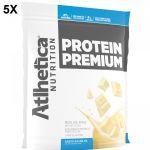 Kit 5X Protein Premium - 850g Refil Baunilha - Atlhetica Nutrition no Atacado