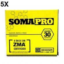 Kit 5X Somapro - 30 Cápsulas - Iridium