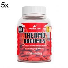 Kit 5X Thermo Abdomen - 60 Tabletes - BodyAction