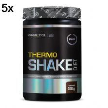 Kit 5X Thermo Shake Diet - 400g Chocolate - Probiótica