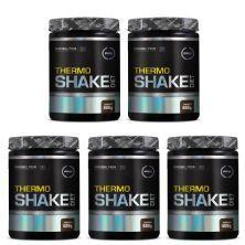 Kit 5X Thermo Shake Diet - 400g Chocolate - Probiótica