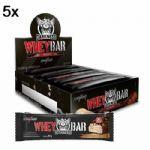 Kit 5X Whey Bar Darkness - 8 Unidades 90g Doce de Leite com Chocolate Chip - IntegralMédica no Atacado