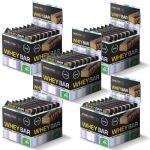Kit 5X Whey Bar High Protein - 24 Unidades 40g Coco - Probiótica no Atacado