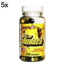Kit 5X Yellow Hornet - 100 Capsulas - Stacker2