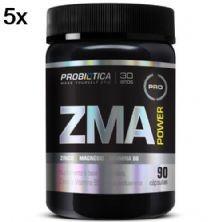 Kit 5X Zma Power -  90 Cápsulas - Probiótica