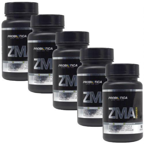 Kit 5X Zma Power -  90 Cápsulas - Probiótica no Atacado
