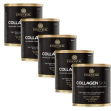 Kit 5 Collagen Skin -  300g Neutro - Essential Nutrition
