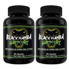 Kit Com 2 Black Mamba Hardcore - 60 Cápsulas - Intlab