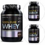 Kit com 3 100% Pure Whey 900g Chocolate - Probiótica no Atacado