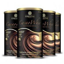 Kit com 4 Cacao Whey - 450g - Essential Nutririon