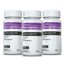 Kit Energia e Definição - 3X Thermogenize Femme - 60 Cápsulas - Inove Nutrition