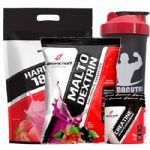 Kit - Hard Mass 3000g Morango + Malto Dextrin 1000g Guarana C/ Açaí + Creatine 70g + Coqueteleira - BodyAction no Atacado