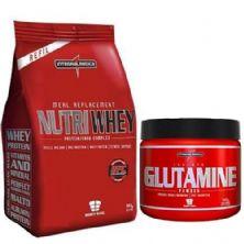 Kit Nutri Whey Bunilha + Glutamine 300g - IntegralMédica