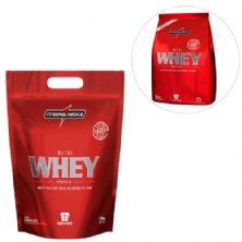 Kit Nutri Whey Protein - Chocolate 1800g Refil + Nutri Whey Morango 907g Refil - Integralmédica